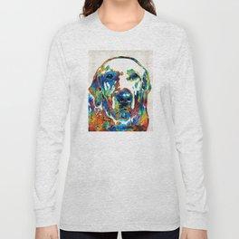 Labrador Retriever Art - Play With Me - By Sharon Cummings Long Sleeve T-shirt