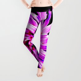 Electro Floral Fun Leggings