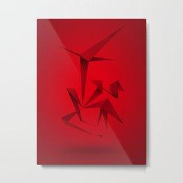 RED ANGLE Metal Print