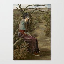 Back Off Canvas Print