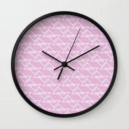 Zigzag II Wall Clock