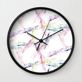 Sweet Chalk Wall Clock