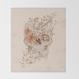 Disintegrate (A Violent Decay):  The Fragile Intensity of Existence Throw Blanket