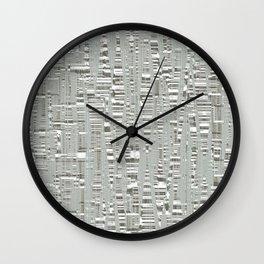 Texture az Birch Wall Clock