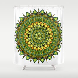 Mandala Fortuna Shower Curtain