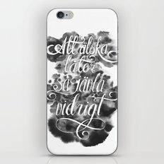 Swedish Love Making iPhone & iPod Skin