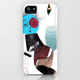 Paint drops iPhone Case