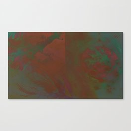 Grayed Canvas Print