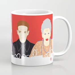 Many People In This Hotel (Faces & Movies) Coffee Mug