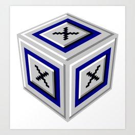 WIN2K - Eksu 3D Art Print