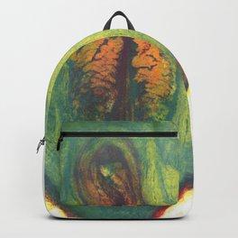 Hazel Sage's Avocado Backpack
