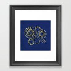 The Doctor's Past Framed Art Print