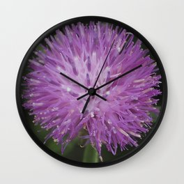 Knapweed Wall Clock