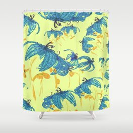 Giallo Shower Curtain