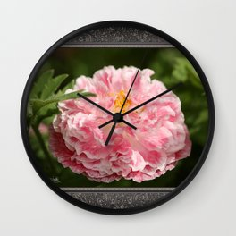 Poppy from the Angel's Choir Mix Wall Clock