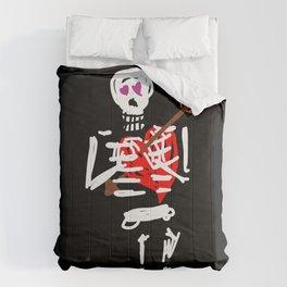 Die trying valentine Comforters