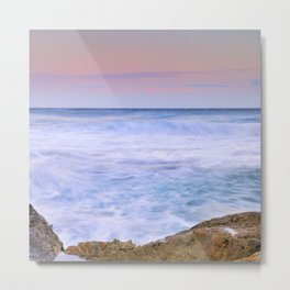 Looking at the waves... Metal Print