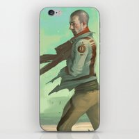 desert iPhone & iPod Skins featuring Desert by Kelly Perry