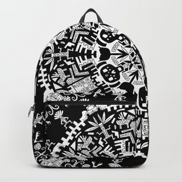 Trance Dream - Maya (Black and White Edition) Backpack