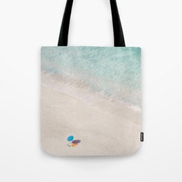 The Aqua Umbrella Tote Bag