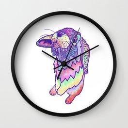 HAPPY EASTER RABBIT Wall Clock