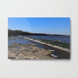Providence Dam IV Metal Print