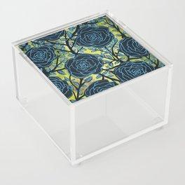 Black and Blue Acrylic Box