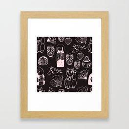 Japanese Treasures Framed Art Print