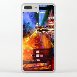 Romantic Clear iPhone Case