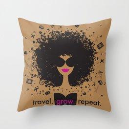 FlyGirl 2.0 Throw Pillow