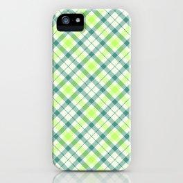 Spring Plaid iPhone Case
