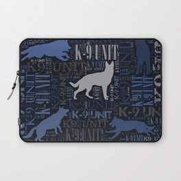 K-9 Unit  -Police Dog Unit Laptop Sleeve