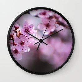 New pink spring. Pink dreams Wall Clock