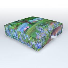 Monet's Garden AC20110715a Outdoor Floor Cushion
