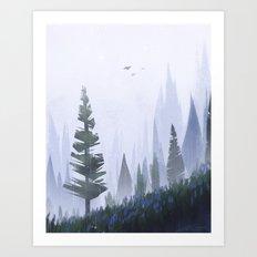 Little Rain Art Print