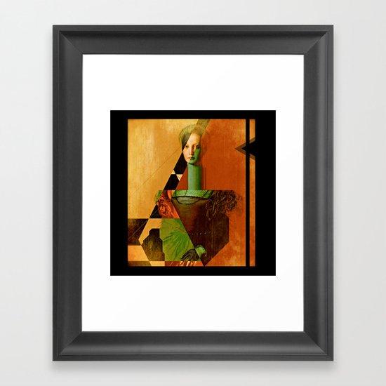 LucreziaV.3-Bronzino. Framed Art Print