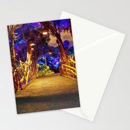 Pandora Bridge at Night Stationery Cards