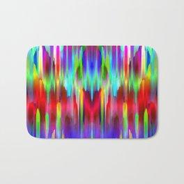 Colorful digital art splashing G487 Bath Mat