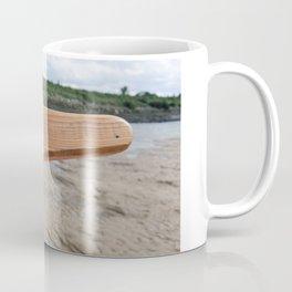 Rope on the tiller Coffee Mug