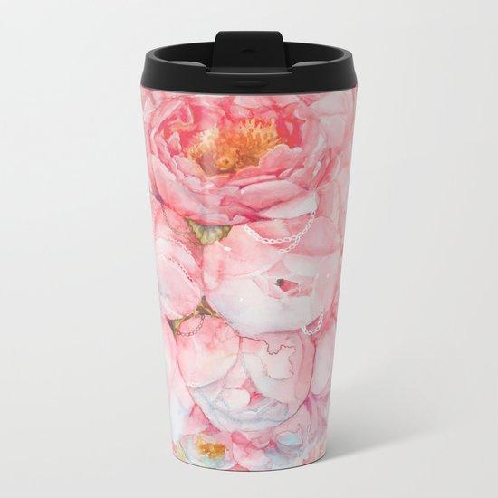Tender bouquet Metal Travel Mug