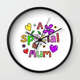A Special Mum Wall Clock