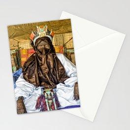 Tuareg elder, Timbuktu, Mali Stationery Cards