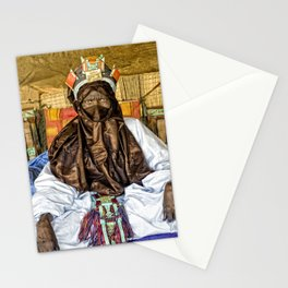 Tuareg elder, Timbuktu, Mali Stationery Cards