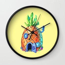 Spongebob House Wall Clock