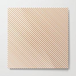Topaz Stripe Metal Print
