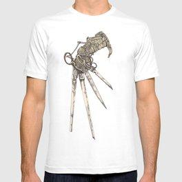 Scissorhands (Sepia-L) T-shirt