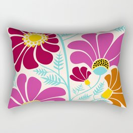 Autumn Floral Rectangular Pillow