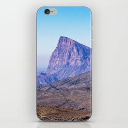 Oman: Mountain near Jebel Shams iPhone Skin