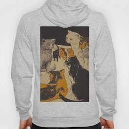 Pussy-cat town - Marion Ames Taggart and Rebecca Chase - 1906 Hoody