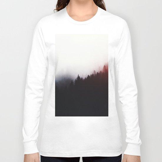 Watercolor woods Long Sleeve T-shirt